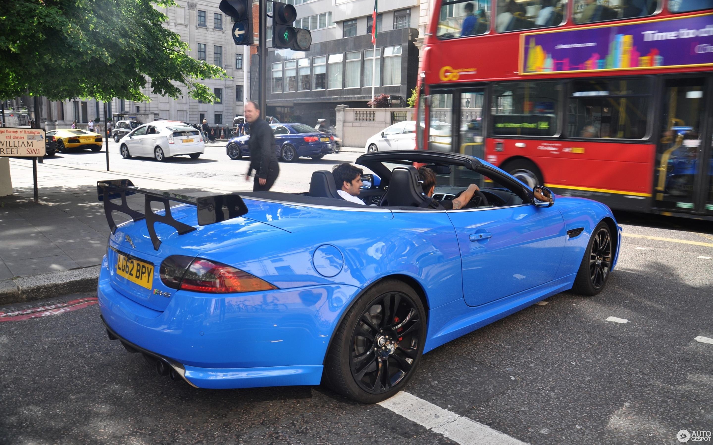 Jaguar XKR-S Convertible 2012
