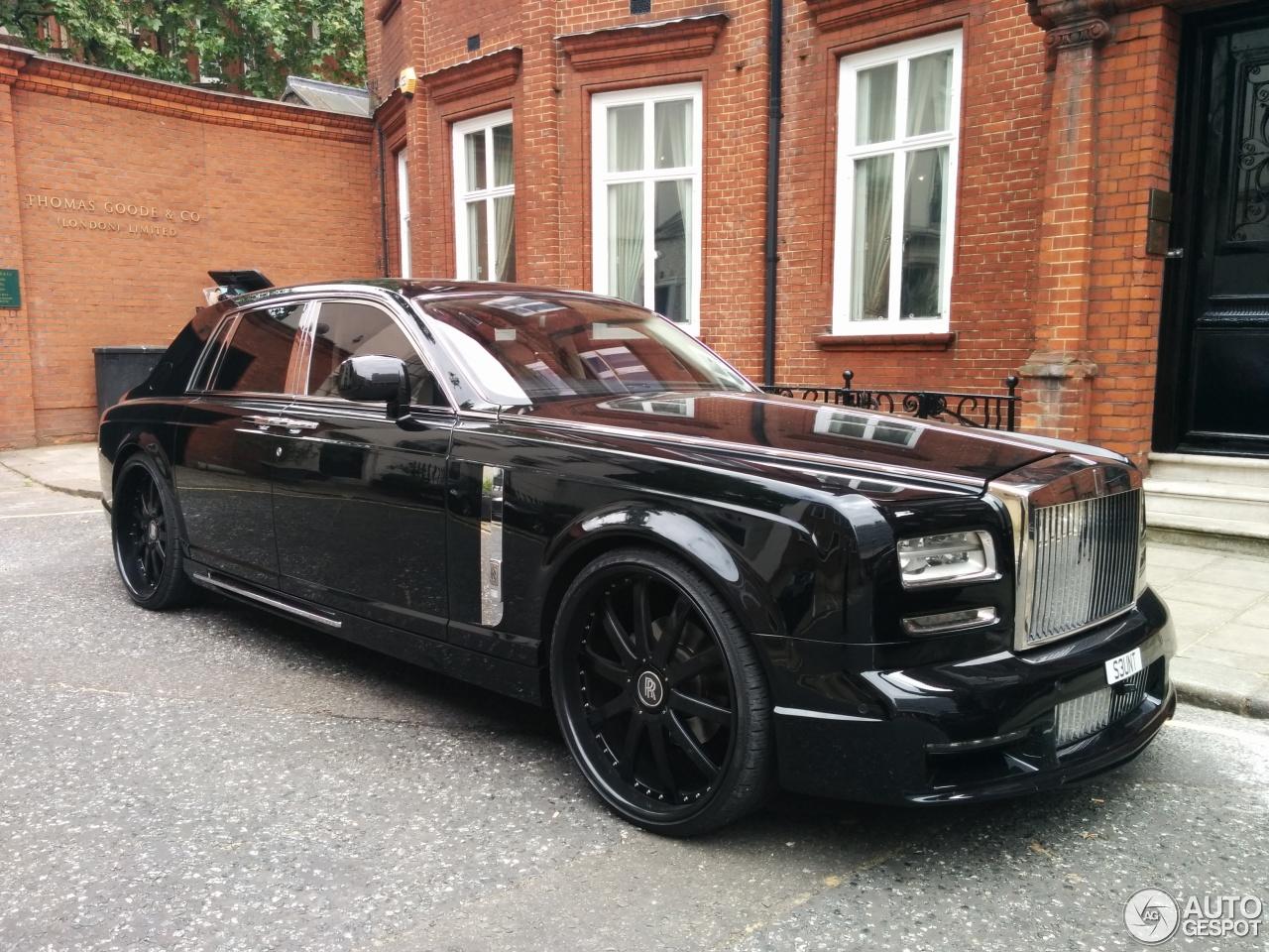 Rolls-Royce Phantom Series II Mansory Conquistador - 10 ...