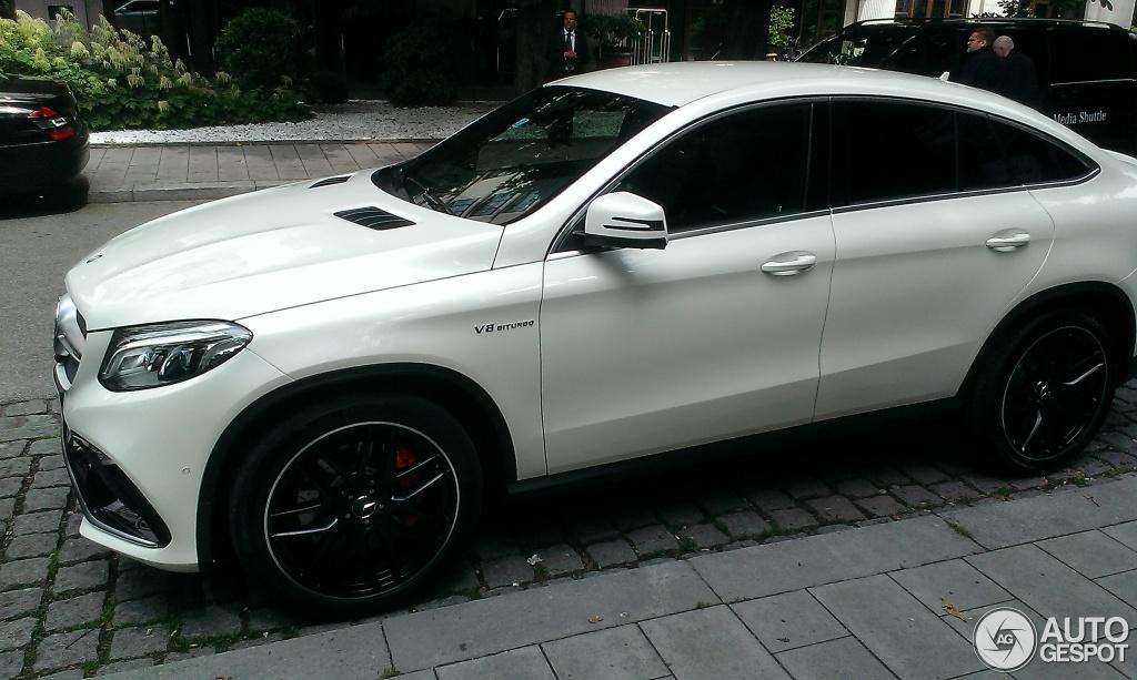 Mercedes Amg Gle 63 S Coup 233 11 Juni 2015 Autogespot