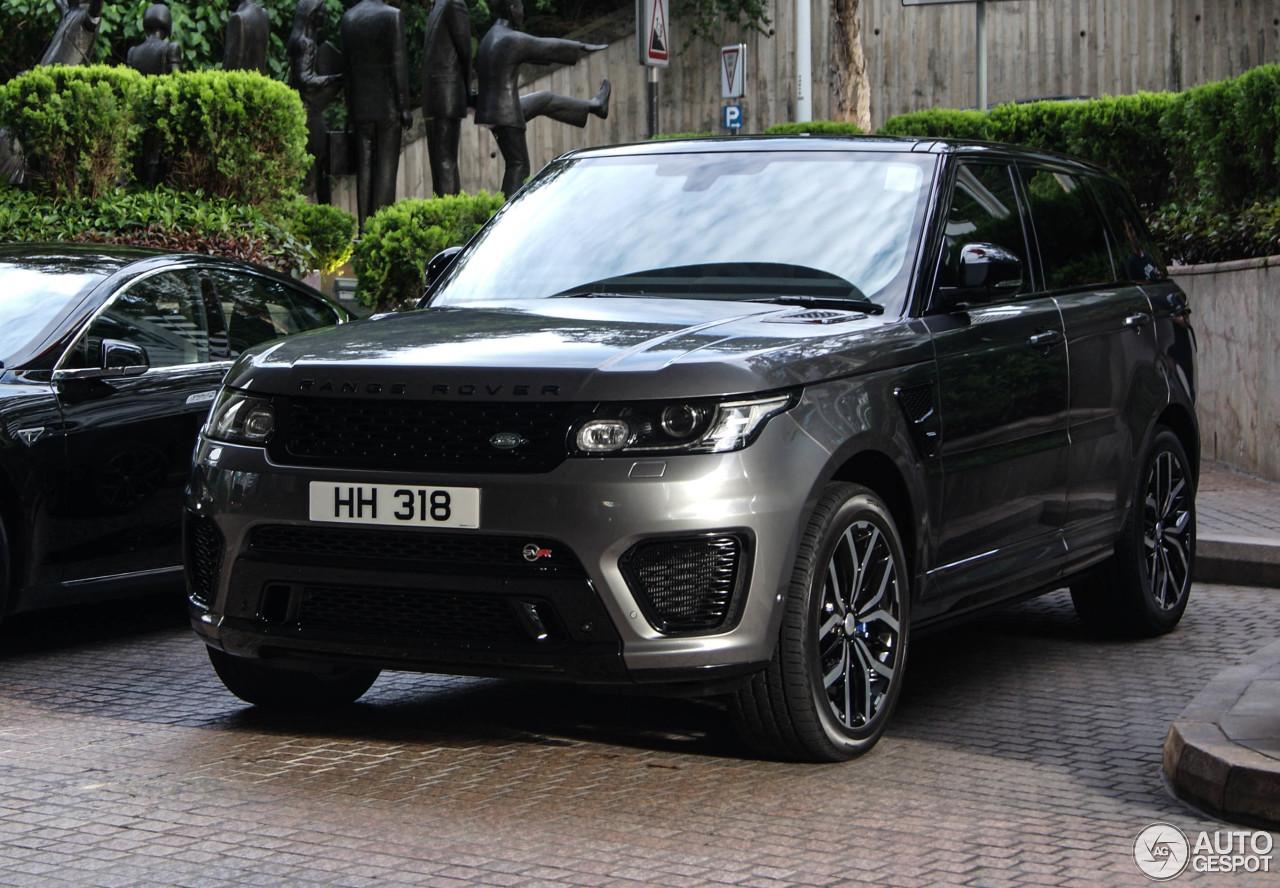 Land Rover Range Rover Sport Svr 13 June 2015 Autogespot