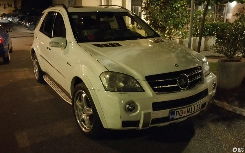 Mercedes Benz ML 63 AMG W164 13 June 2015 Autogespot