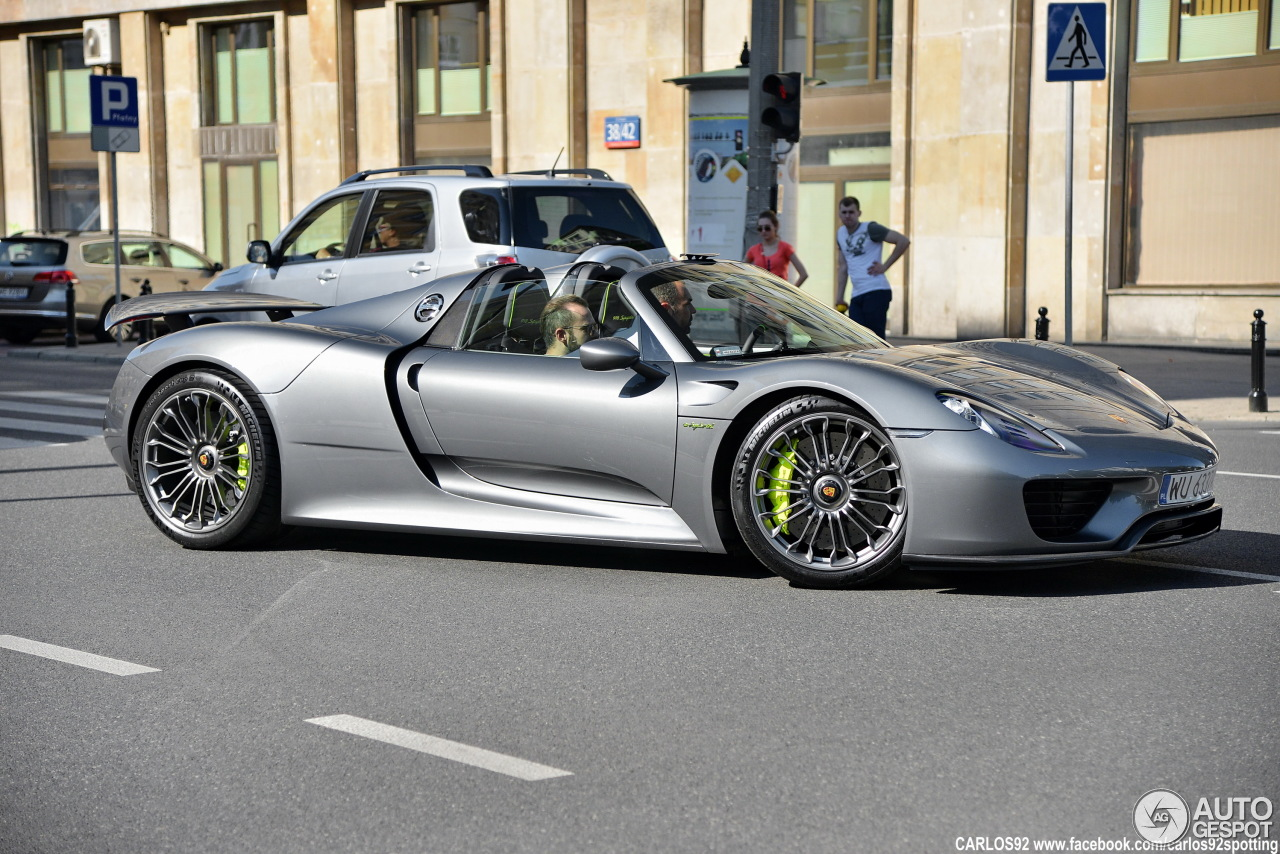 porsche 918 spyder 13 czerwiec 2015 autogespot. Black Bedroom Furniture Sets. Home Design Ideas