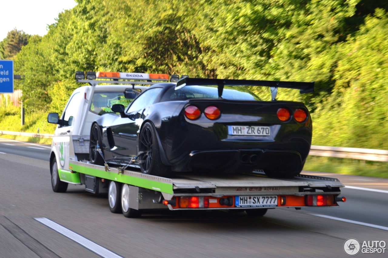 Chevrolet Corvette C6 Z06 Geiger Black Edition 16 June 2015 Autogespot