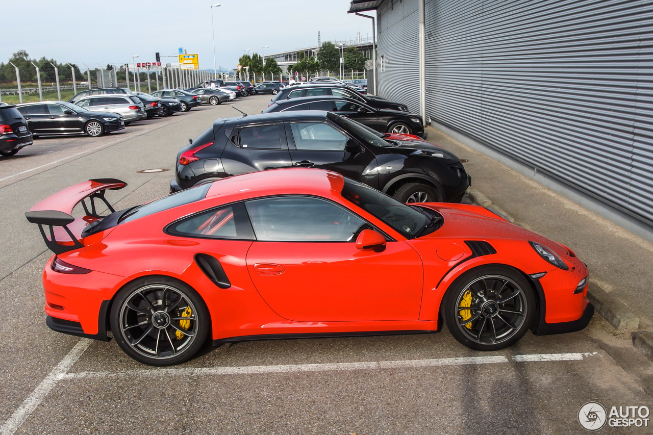 Porsche 991 Gt3 Rs 18 June 2015 Autogespot