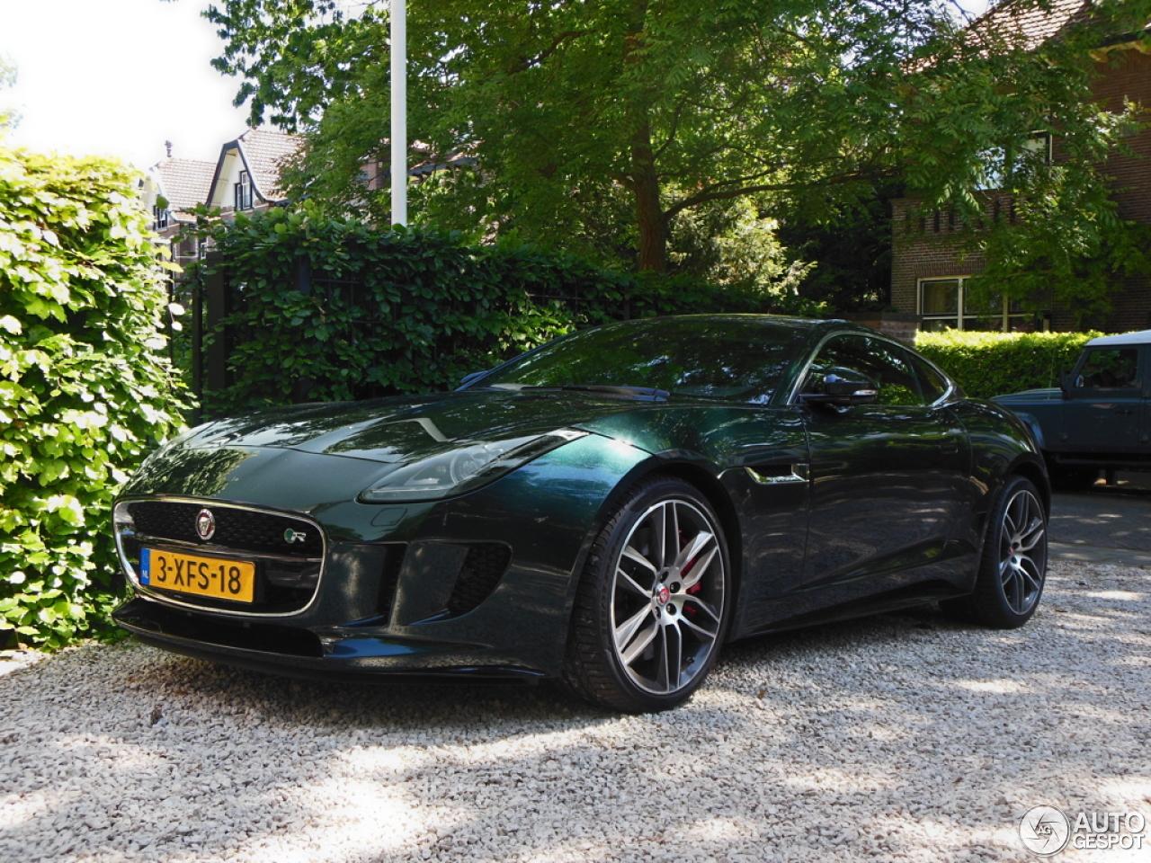 Jaguar F-TYPE R Coupé - 20 June 2015 - Autogespot