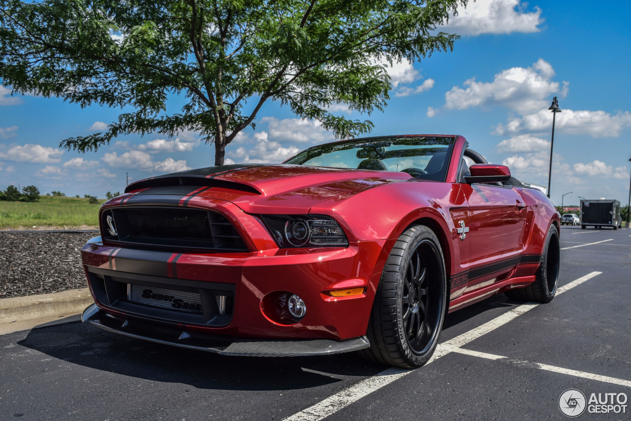 ford mustang shelby gt500 super snake convertible 2014 1. Black Bedroom Furniture Sets. Home Design Ideas