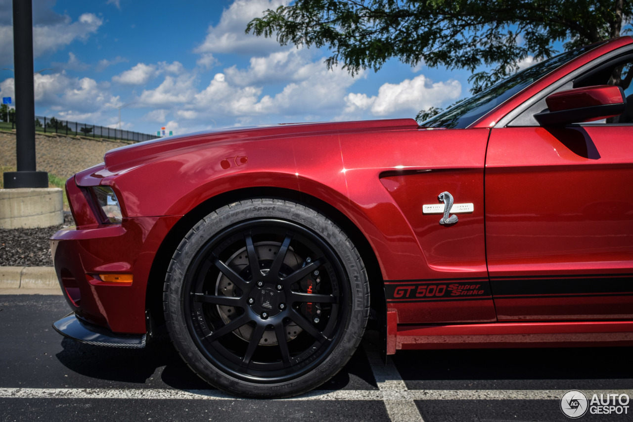 Ford Mustang Shelby Gt500 Super Snake Convertible 2014 1