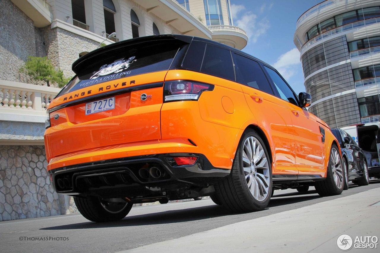 Land Rover Range Rover Sport Svr 1 July 2015 Autogespot