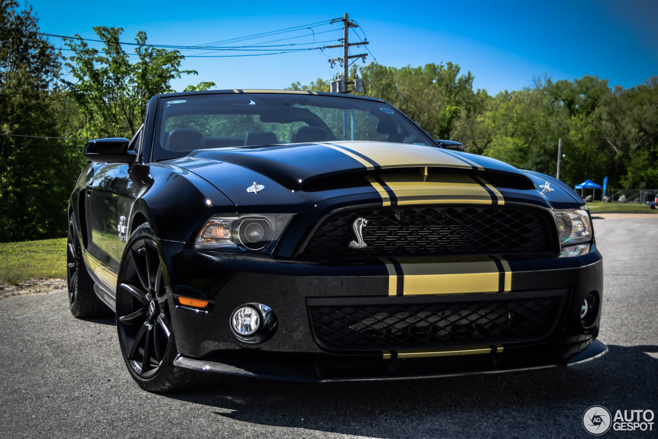 Ford Mustang Shelby GT500 Super Snake Convertible 2011 ...