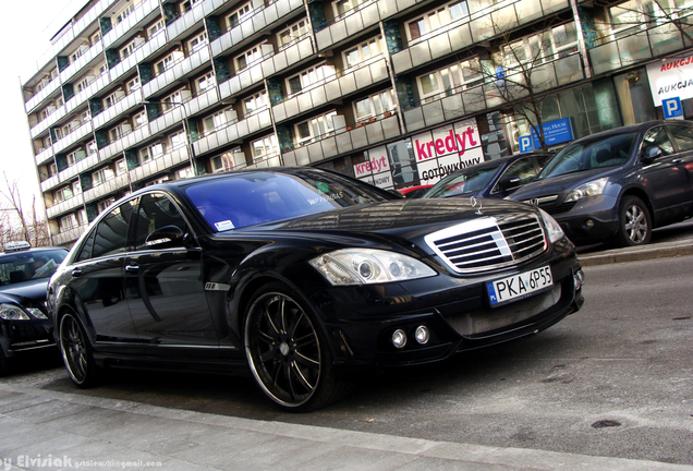 Mercedes-Benz S 63 AMG W221 Wald Black Bison