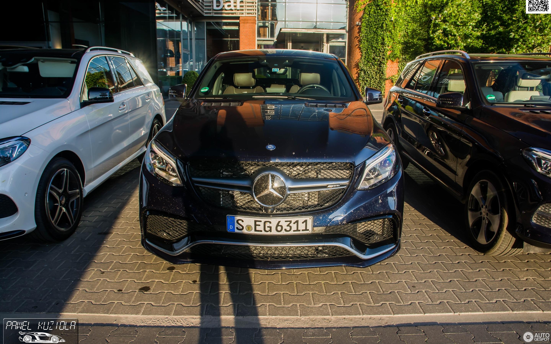 Mercedes AMG GLE 63 S Coupé 5 Juli 2015 Autogespot