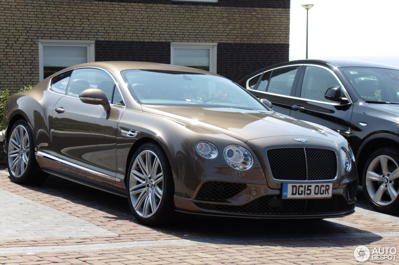Bentley Continental Gt Speed 2016 11 July 2015 Autogespot