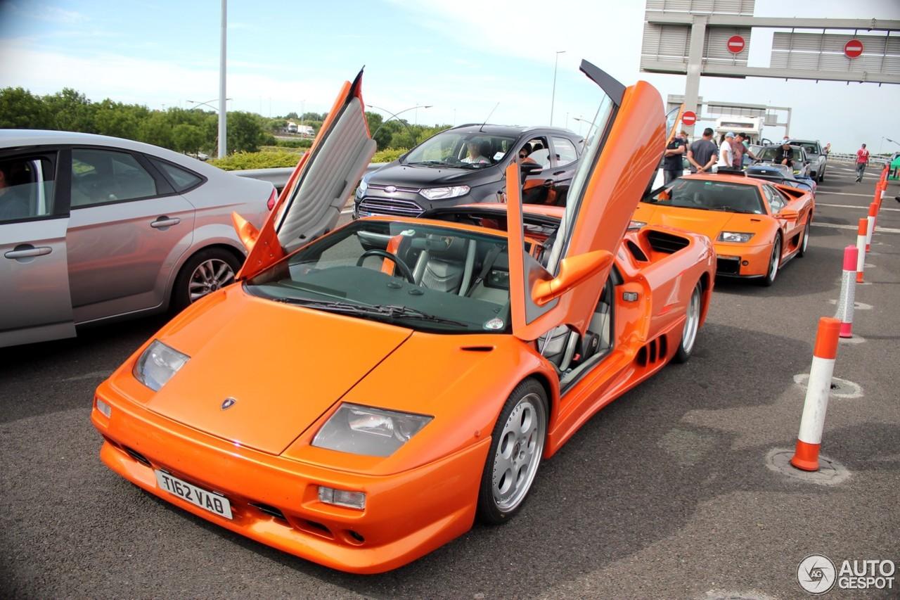 Lamborghini Diablo Vt Roadster 11 July 2015 Autogespot