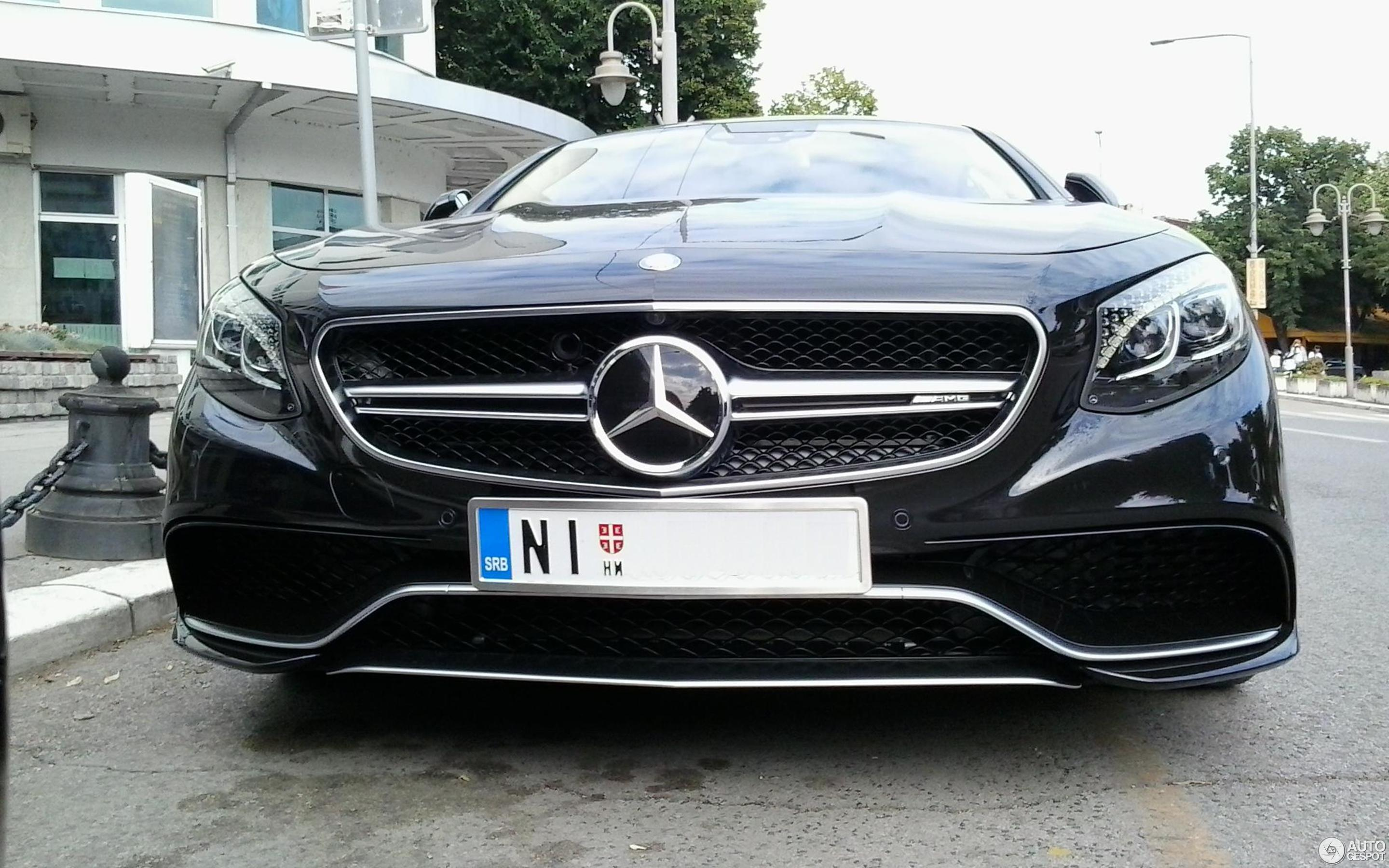 Mercedes Benz S 63 AMG Coupé C217 11 Juli 2015 Autogespot