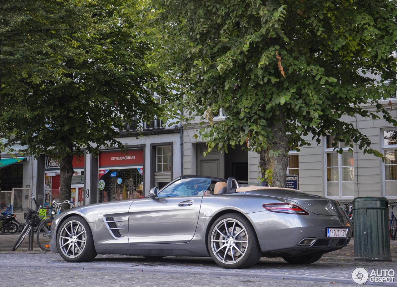 Mercedes benz sls amg roadster 21 juli 2015 autogespot for 2015 mercedes benz sls amg convertible
