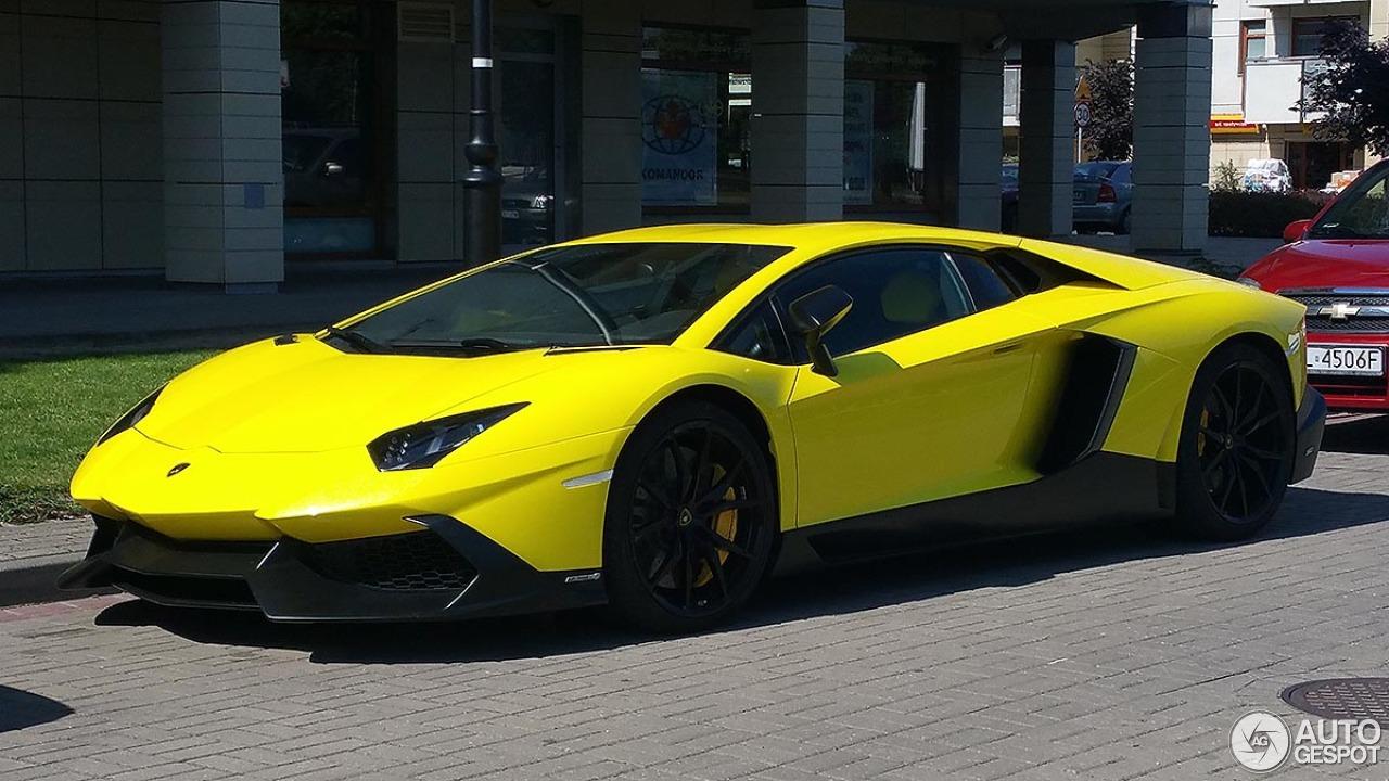 Lamborghini Aventador Lp720 4 50 176 Anniversario 22 July 2015 Autogespot