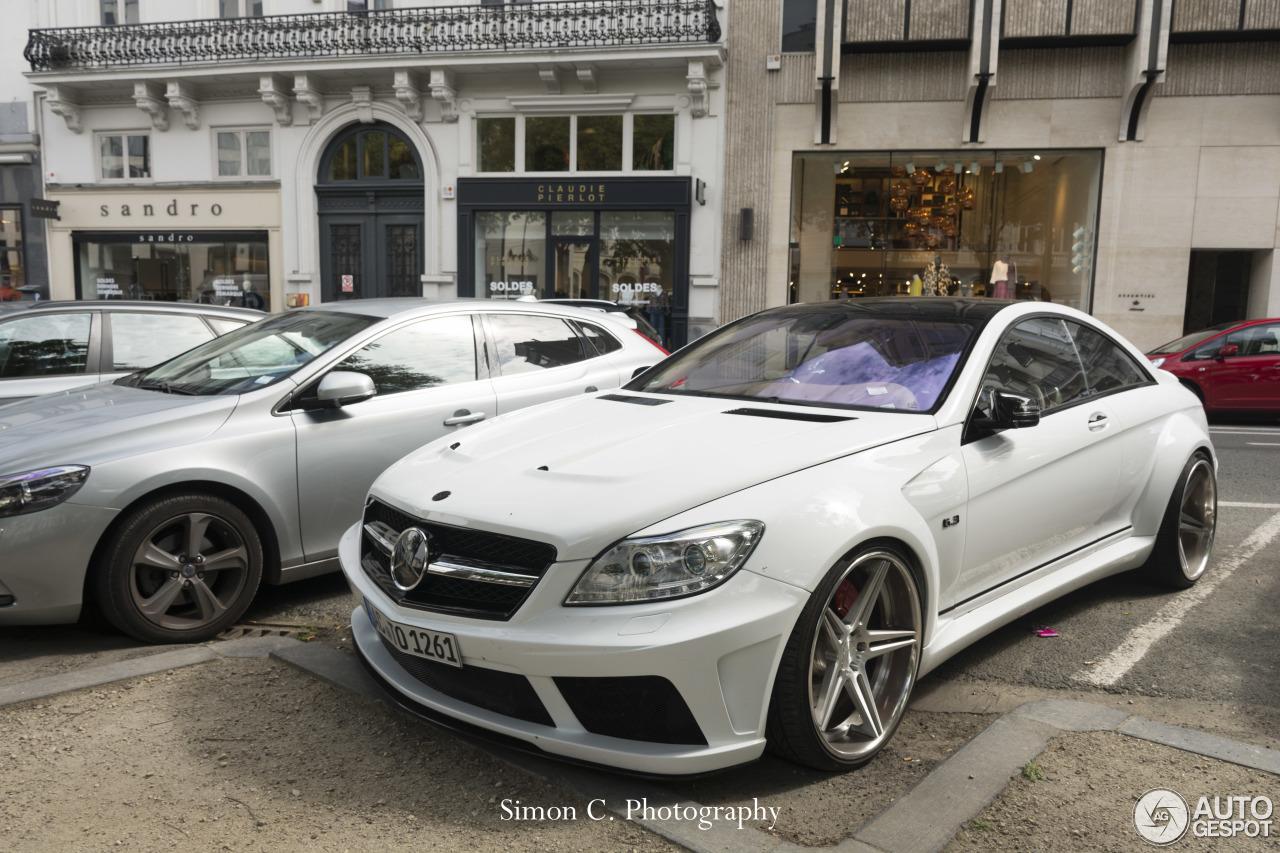 Mercedes Benz Prior Design Cl 63 Amg V2 Widebody 25 July 2015 Autogespot