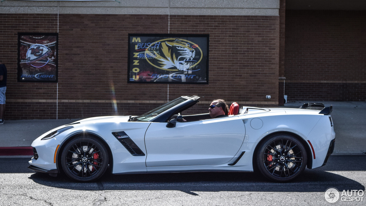 Chevrolet Corvette C7 Z06 Convertible 27 July 2015