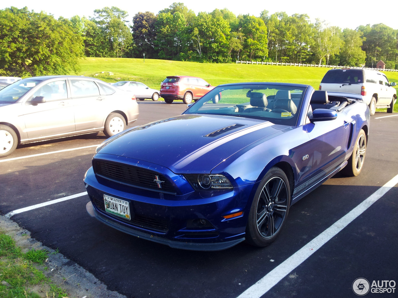 ford mustang gt california special convertible 2013 31 july 2015 autogespot. Black Bedroom Furniture Sets. Home Design Ideas