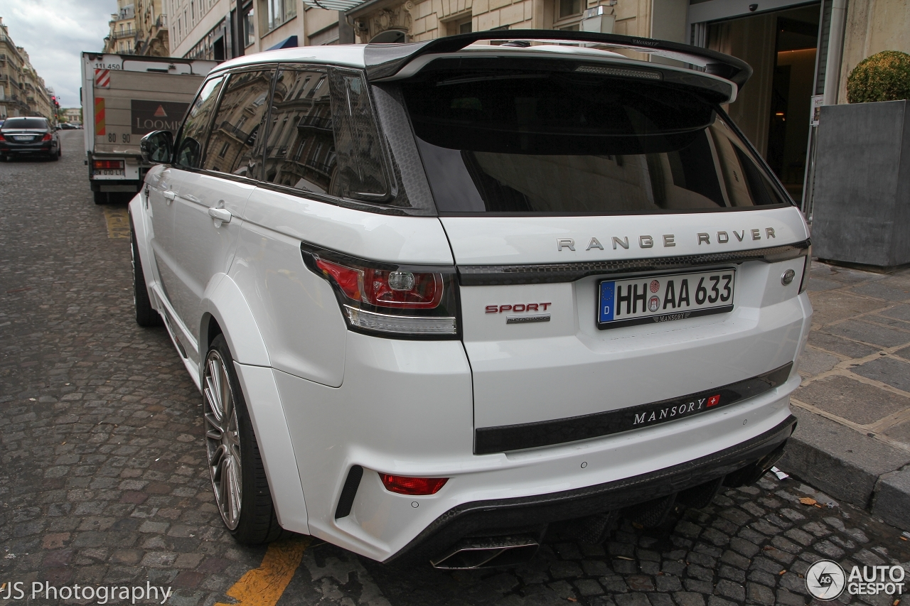 Super Land Rover Mansory Range Rover Sport 2013 - 1 August 2015 - Autogespot XR49