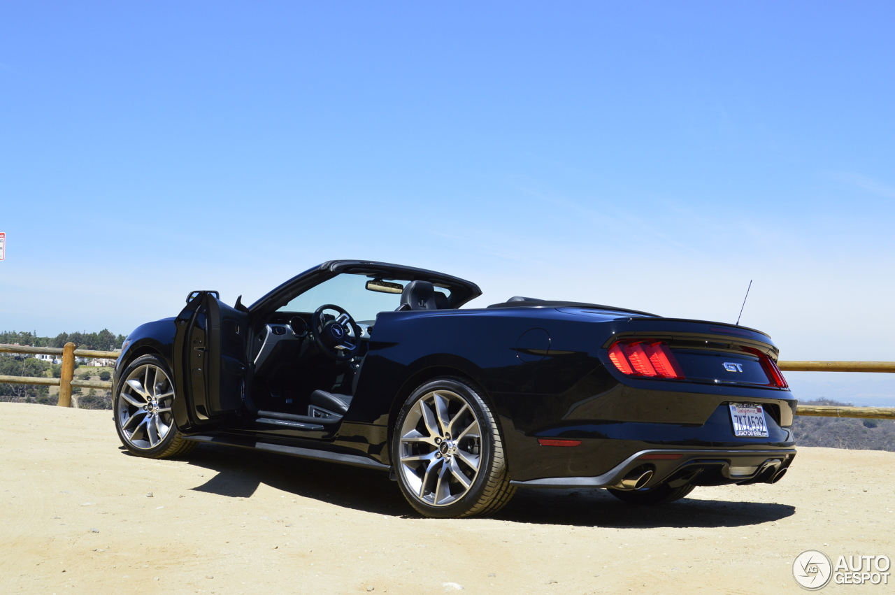 Ford Mustang Gt Convertible 2015 5 August 2015 Autogespot