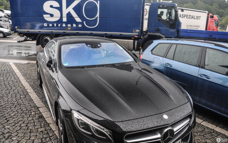Mercedes-Benz S 63 AMG Coupé C217 - 9 August 2015 - Autogespot