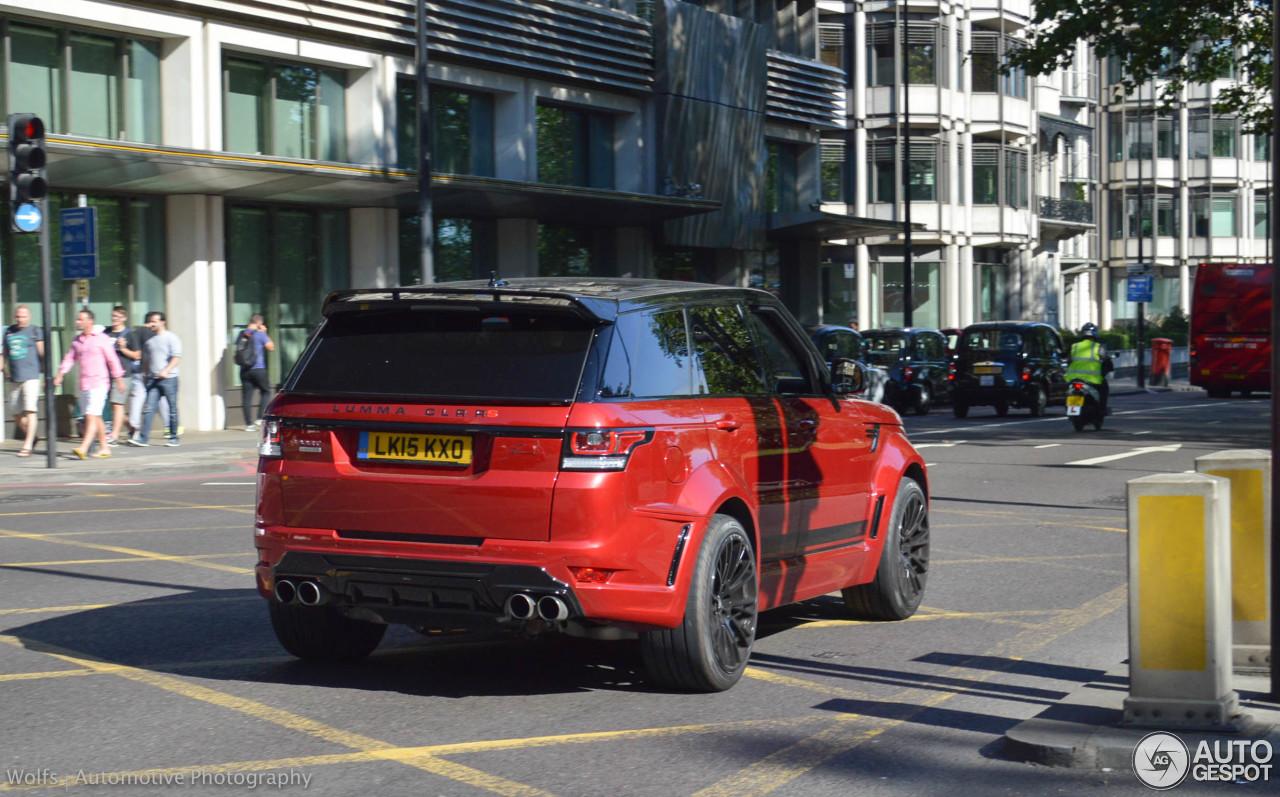 Land Rover Range Rover Sport Lumma CLR RS 1