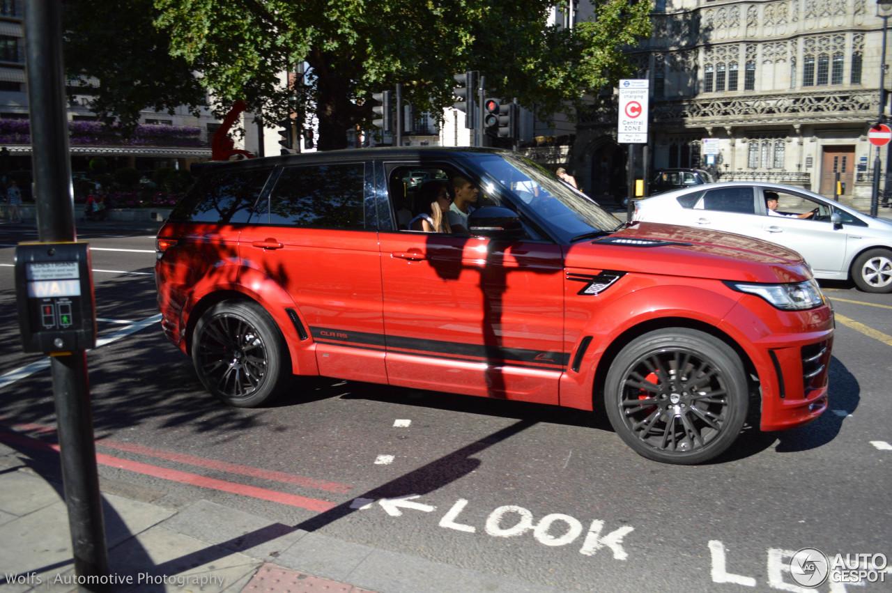Land Rover Range Rover Sport Lumma CLR RS 4