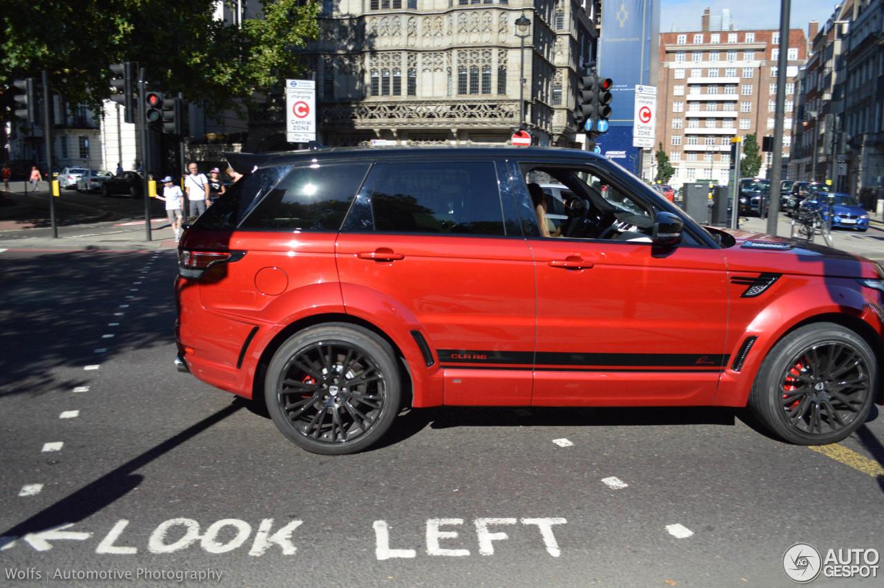 Land Rover Range Rover Sport Lumma CLR RS 5