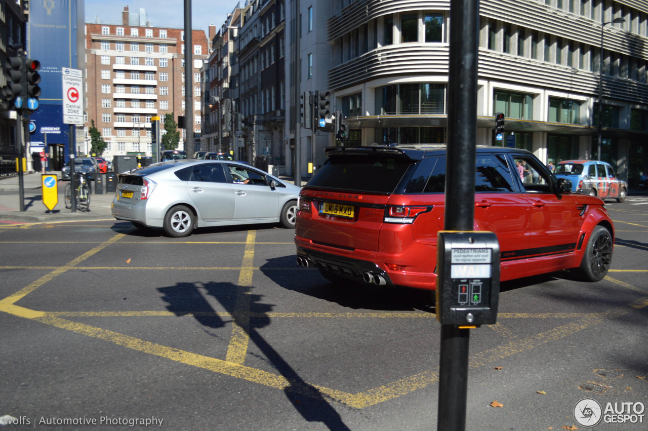 Land Rover Range Rover Sport Lumma CLR RS 7