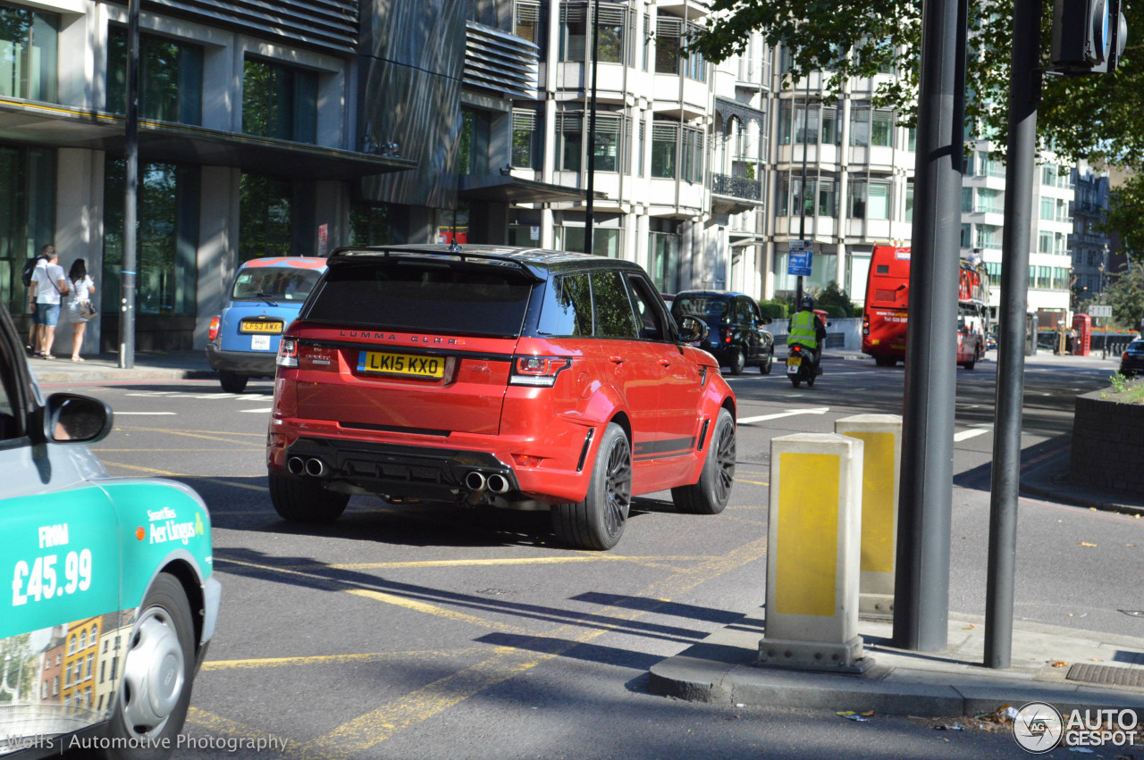 Land Rover Range Rover Sport Lumma CLR RS 8