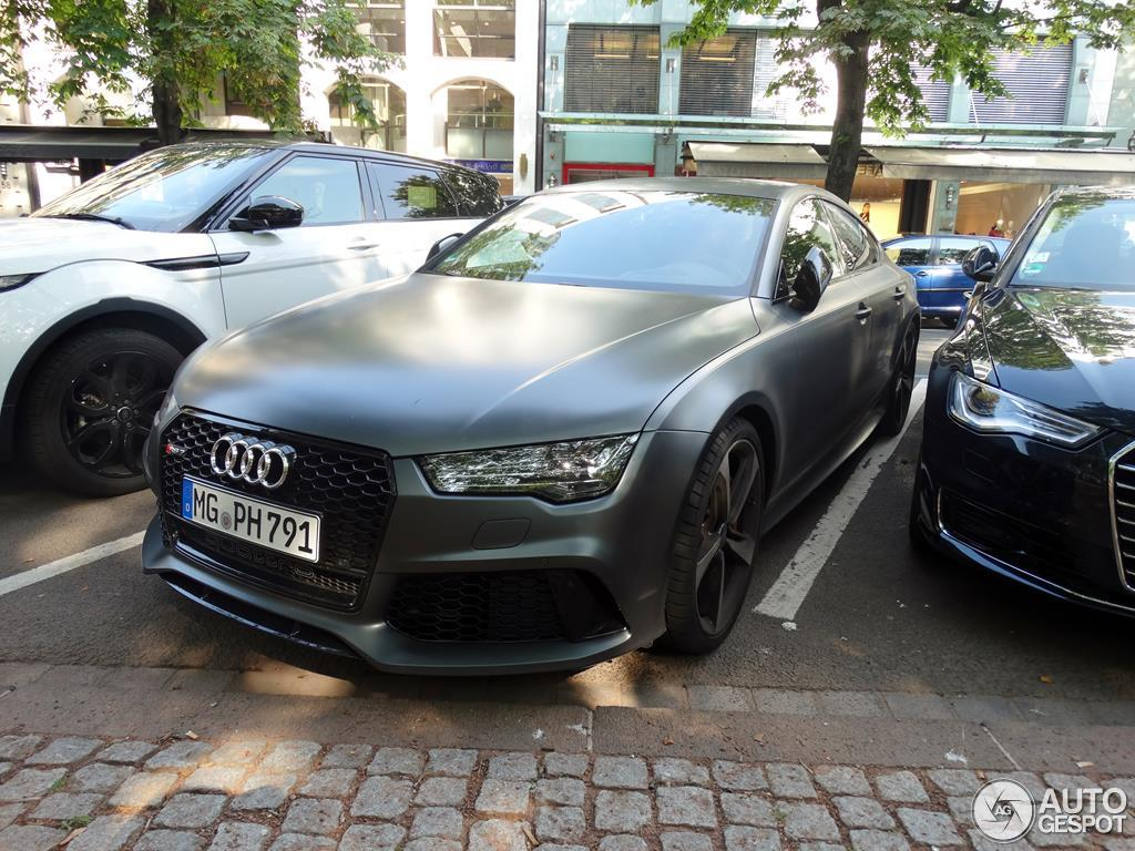 audi rs7 sportback 2015 14 august 2015 autogespot. Black Bedroom Furniture Sets. Home Design Ideas