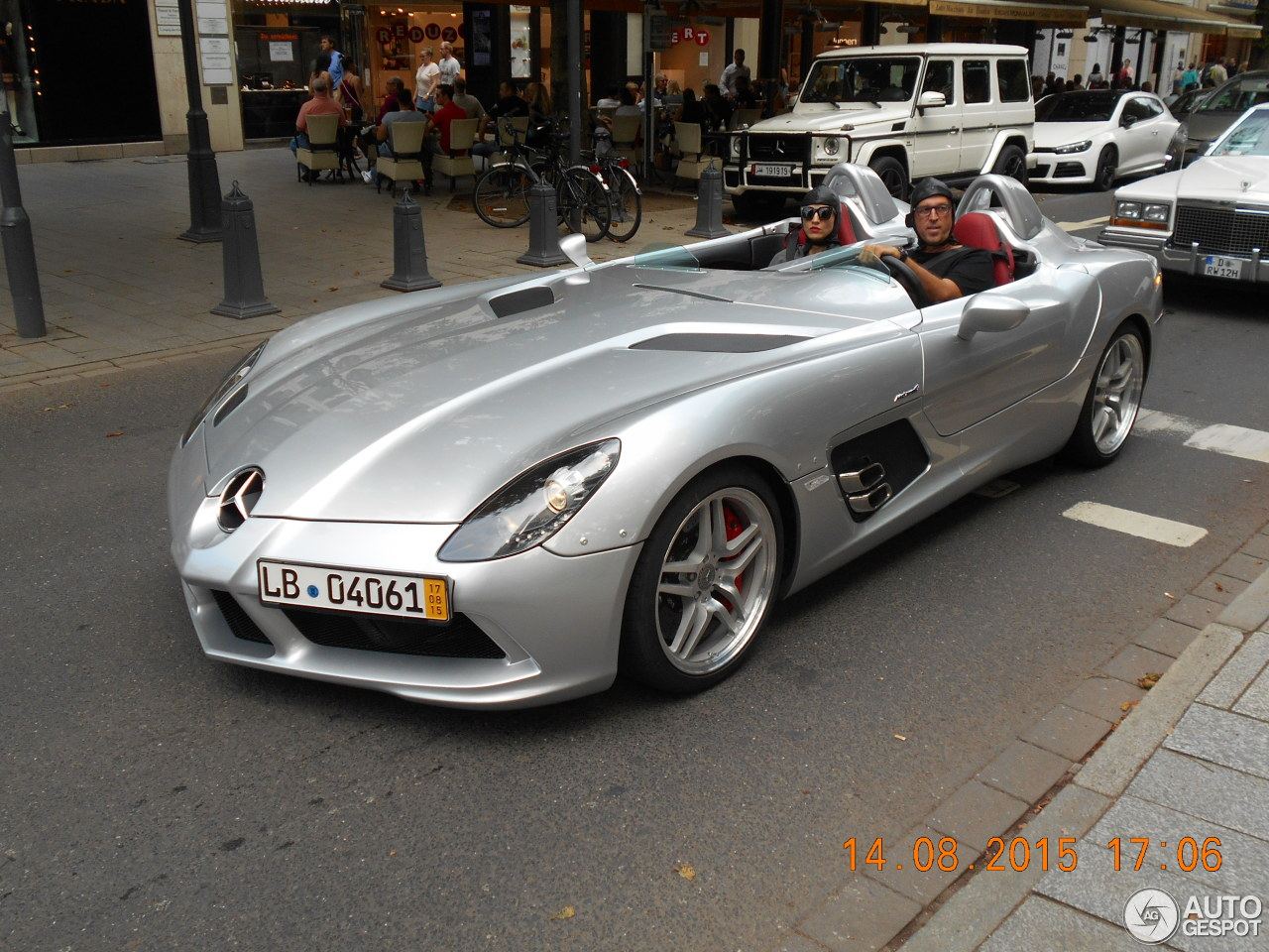 mercedes benz slr mclaren stirling moss 15 august 2015 autogespot. Black Bedroom Furniture Sets. Home Design Ideas