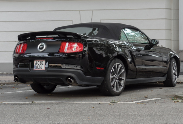 Ford Mustang GT California Special Convertible 2012