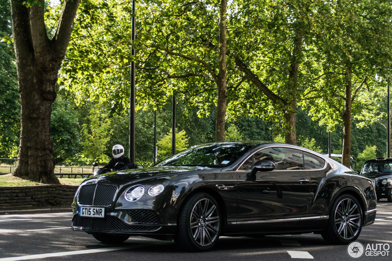 bentley continental gt speed 2016 17 august 2015 autogespot. Black Bedroom Furniture Sets. Home Design Ideas