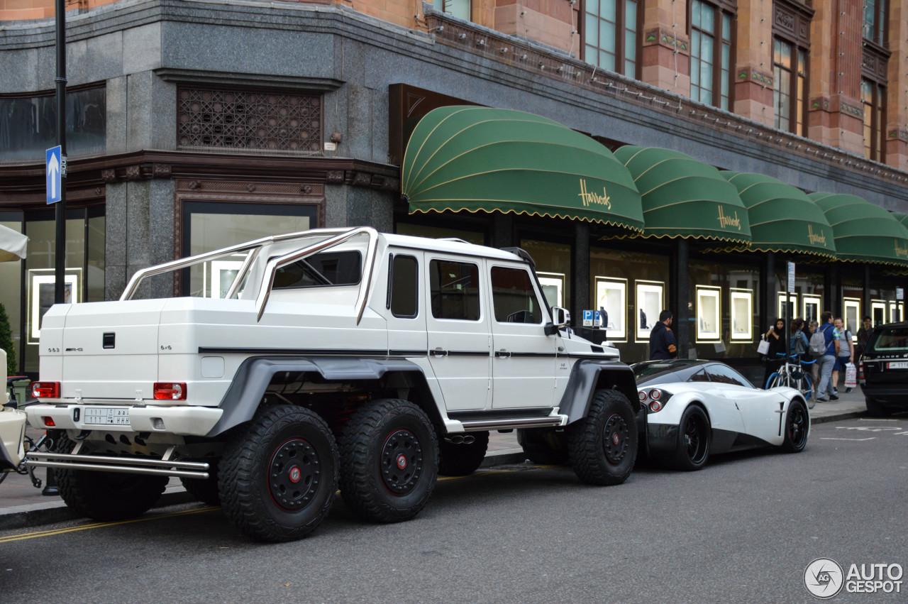 Mercedes benz g 63 amg 6x6 18 august 2015 autogespot for Mercedes benz g 63 amg 6x6