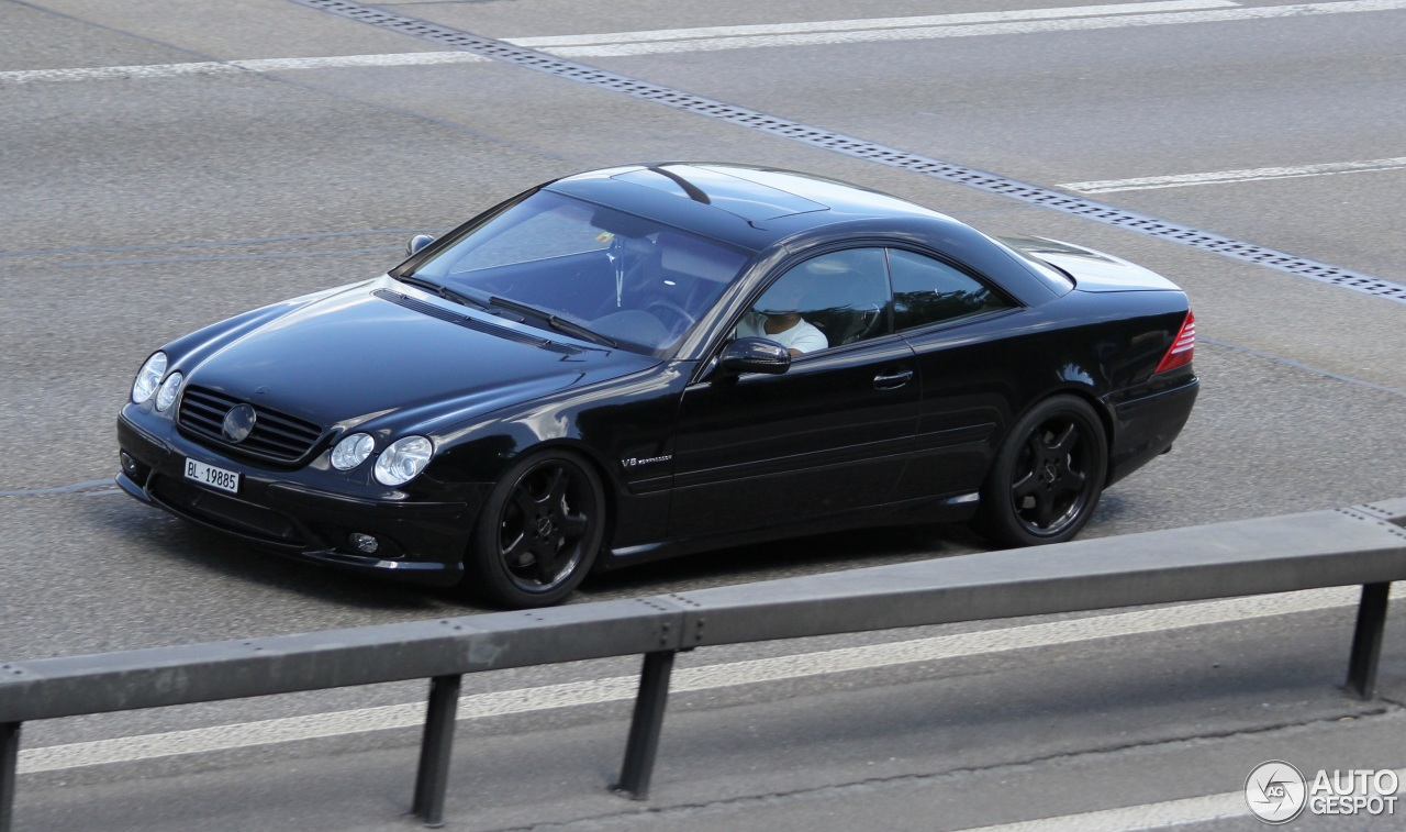 mercedes benz cl 55 amg c215 kompressor 20 august 2015 autogespot. Black Bedroom Furniture Sets. Home Design Ideas