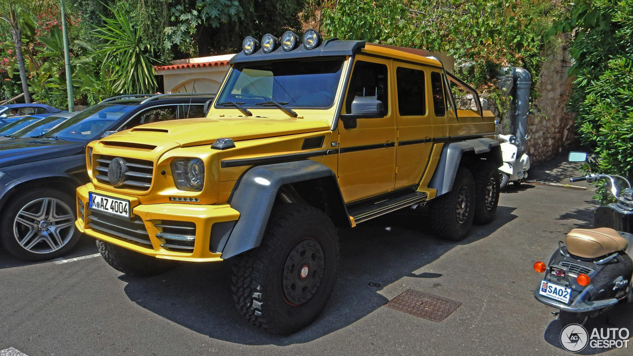Mercedes benz mansory gronos g 63 amg 6x6 20 august 2015 for Mercedes benz amg 6x6 price