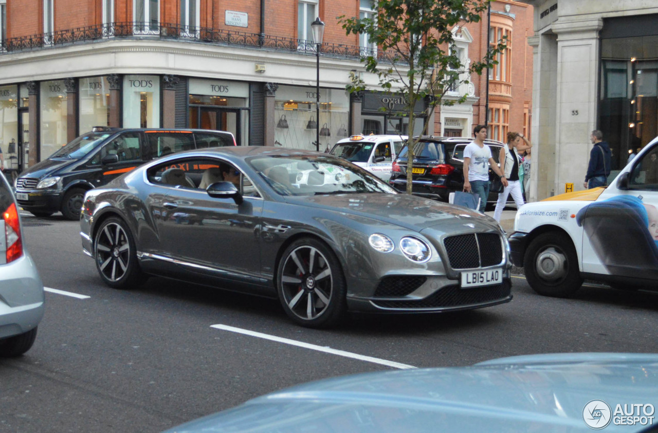Bentley Continental GT V8 S 2016 - 23 August 2015 - Autogespot
