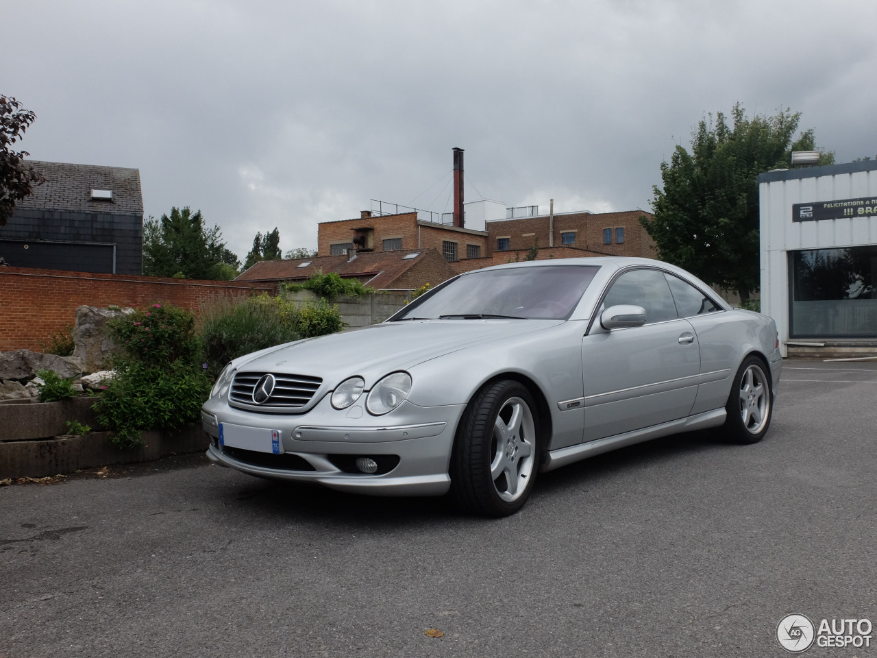 Mercedes benz cl 55 amg f1 limited edition