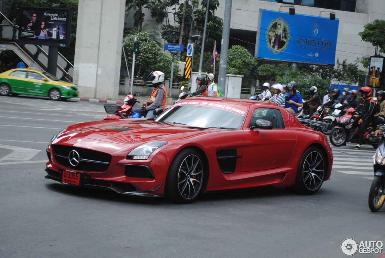 Mercedes benz sls amg black series 25 august 2015 for 2015 mercedes benz sls amg coupe