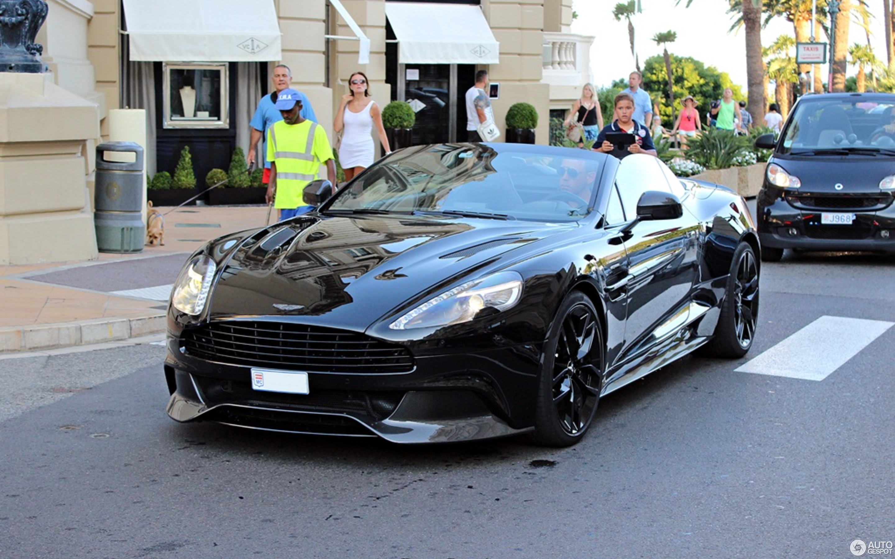 Aston Martin Vanquish Volante 2015 Carbon Black Edition 25 August 2015 Autogespot