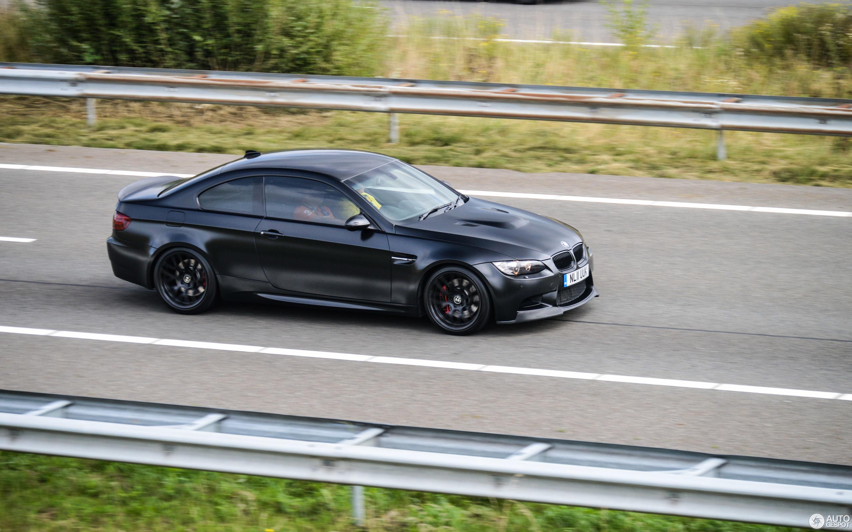 Bmw M3 E92 Coupe Frozen Black Edition 30 August 2015 Autogespot