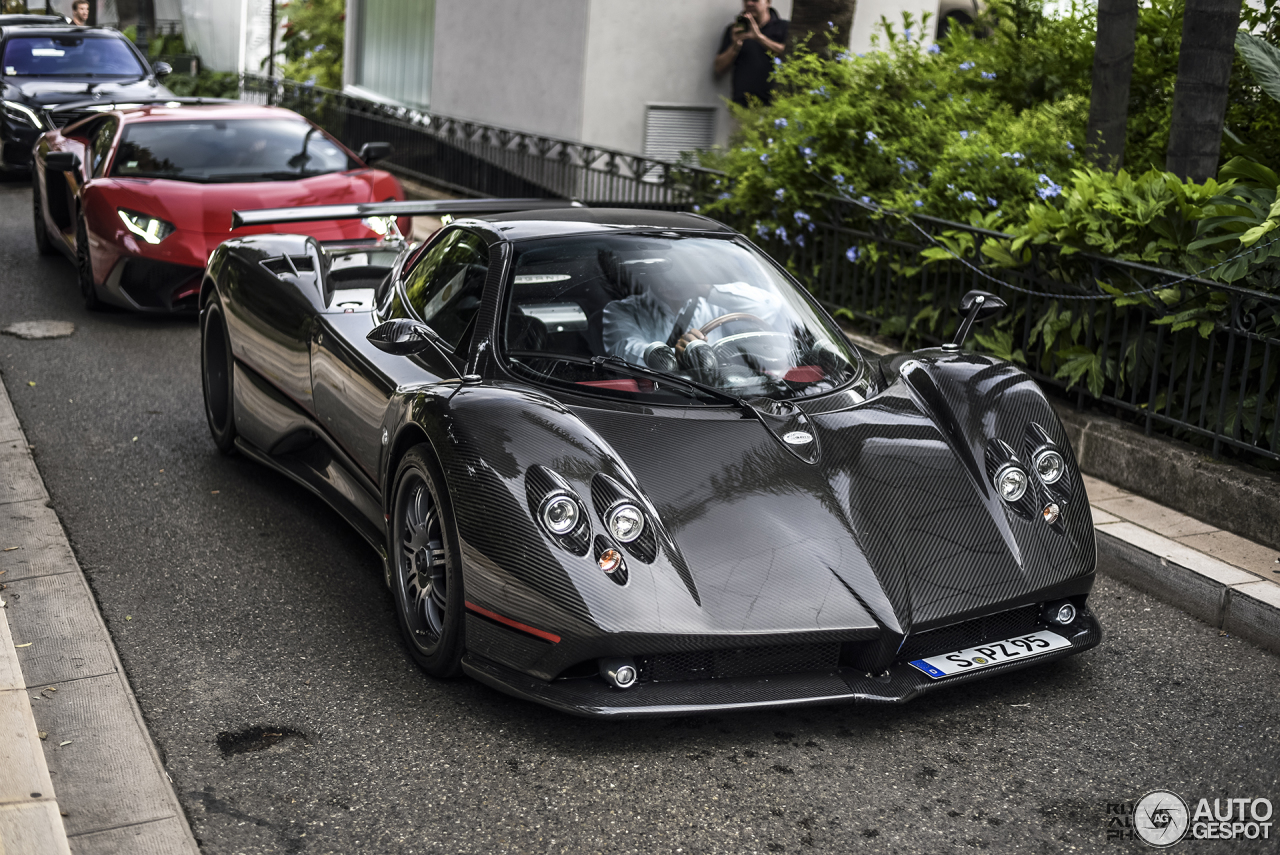 pagani zonda c12 f roadster 30 august 2015 autogespot. Black Bedroom Furniture Sets. Home Design Ideas