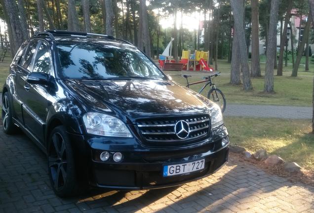 Mercedes-Benz Brabus Widestar ML B 63 S