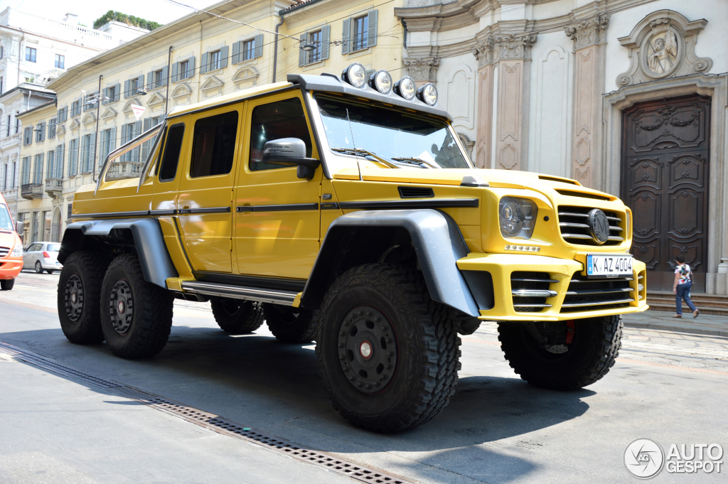 mercedes benz mansory gronos g 63 amg 6x6 2 2015 autogespot. Black Bedroom Furniture Sets. Home Design Ideas