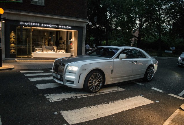 Rolls-Royce Mansory White Ghost Limited