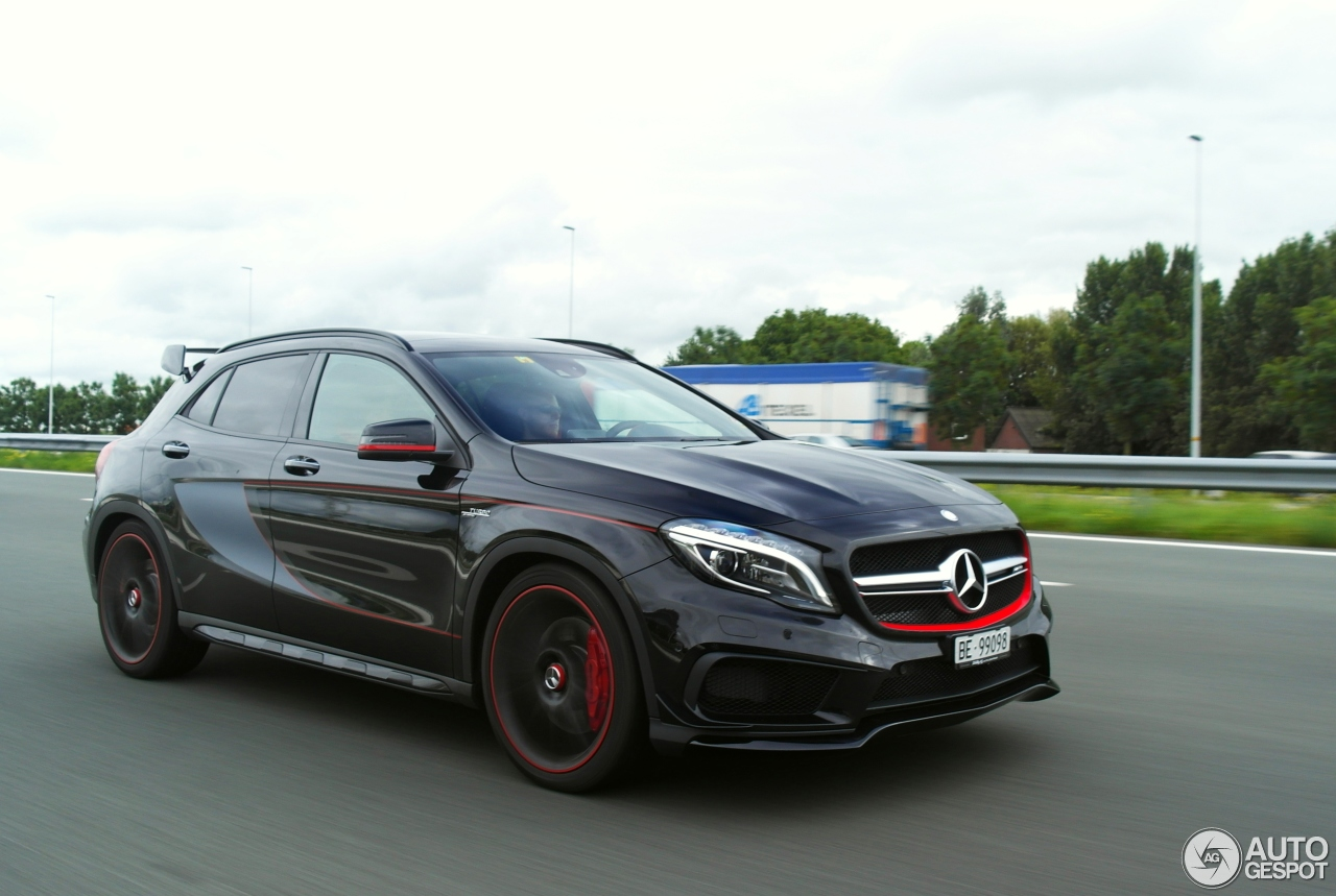 mercedes benz gla 45 amg edition 1 8 september 2015 autogespot. Black Bedroom Furniture Sets. Home Design Ideas
