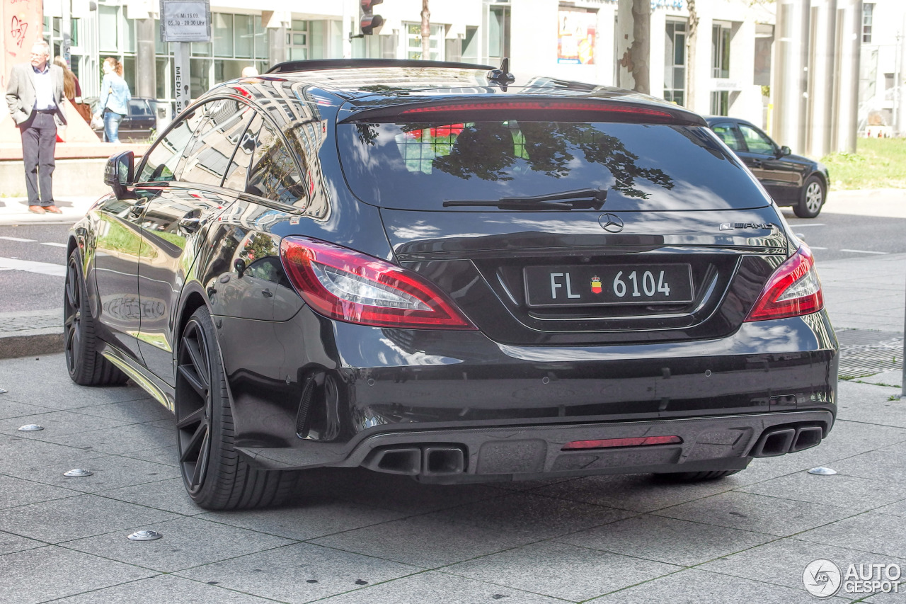 Mercedes Benz Cls 63 Amg S X218 Shooting Brake 2015 13