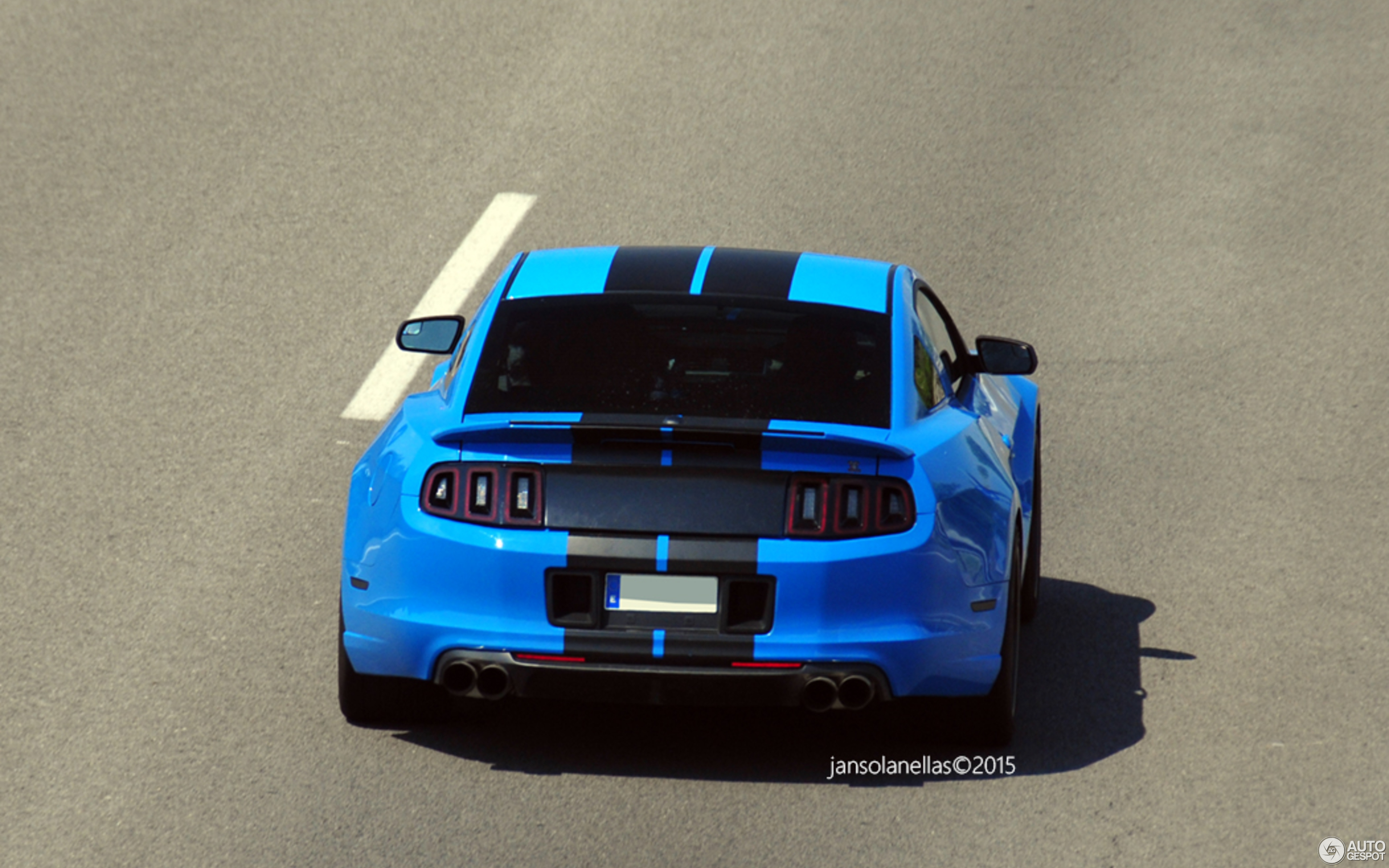 Big Blue Auto >> Ford Mustang Shelby Gt500 2013 Big Blue By Usa Auto Import 15